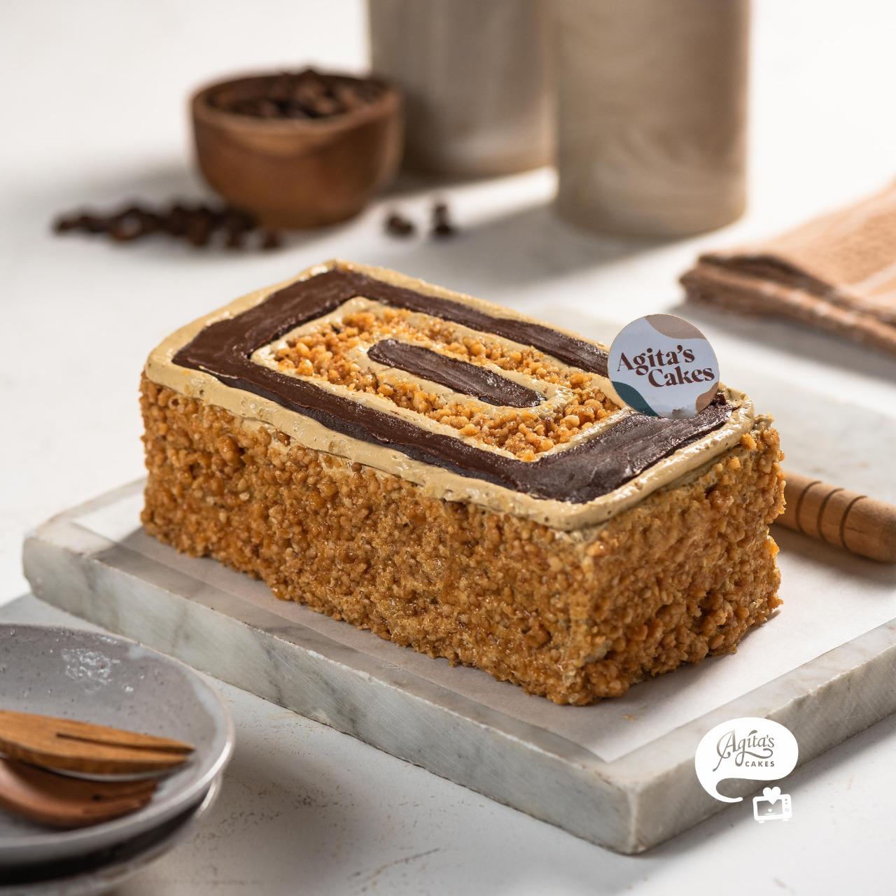 Mocca Noughat Cake